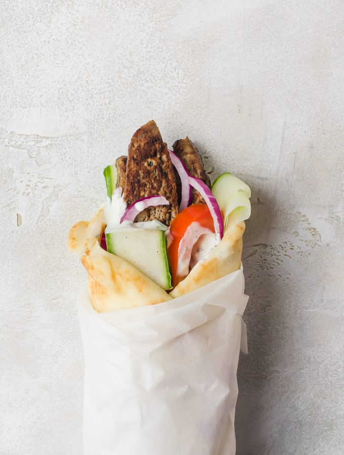 There isn't anything like making your own greek lamb gyros at home - and bonus, they are easy to make