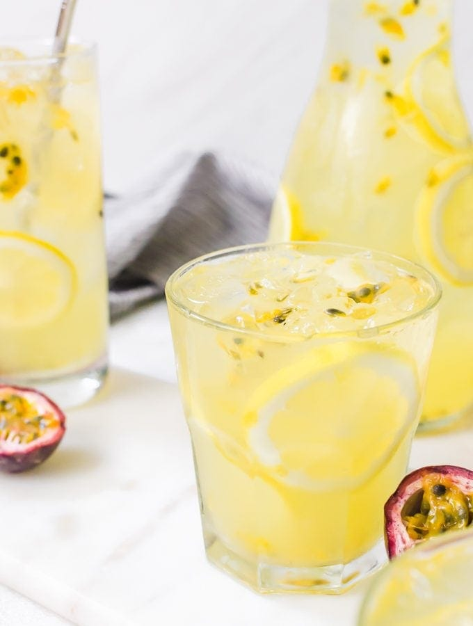 Passion Fruit Lemonade
