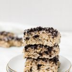 Oreo rice krispie treats are youre new favorite snack