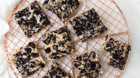 Oreo Rice Crispy Treats
