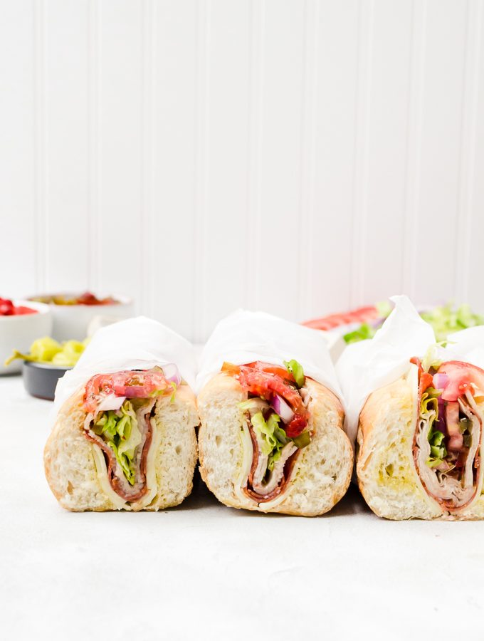the perfect hoagie - a lot more than just bread and veggies on a roll