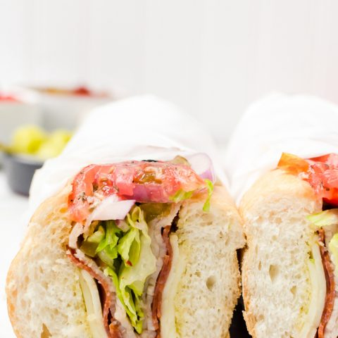 how to build the perfect hoagie