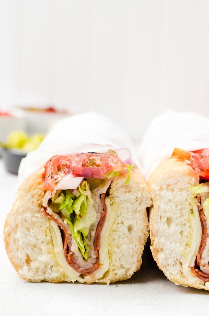 Learn how to build the perfect hoagie