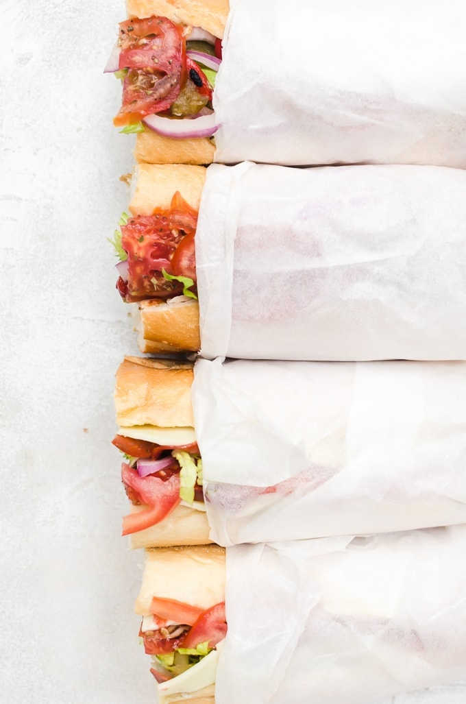 Build the perfect hoagie