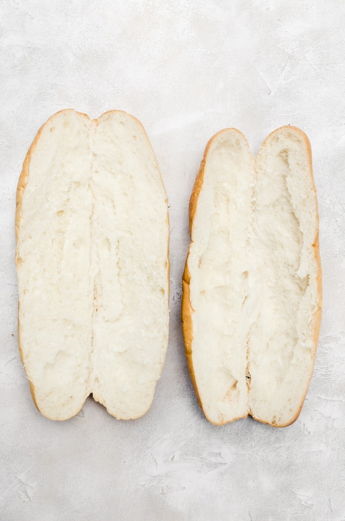how to prepare your roll for the perfect hoagie
