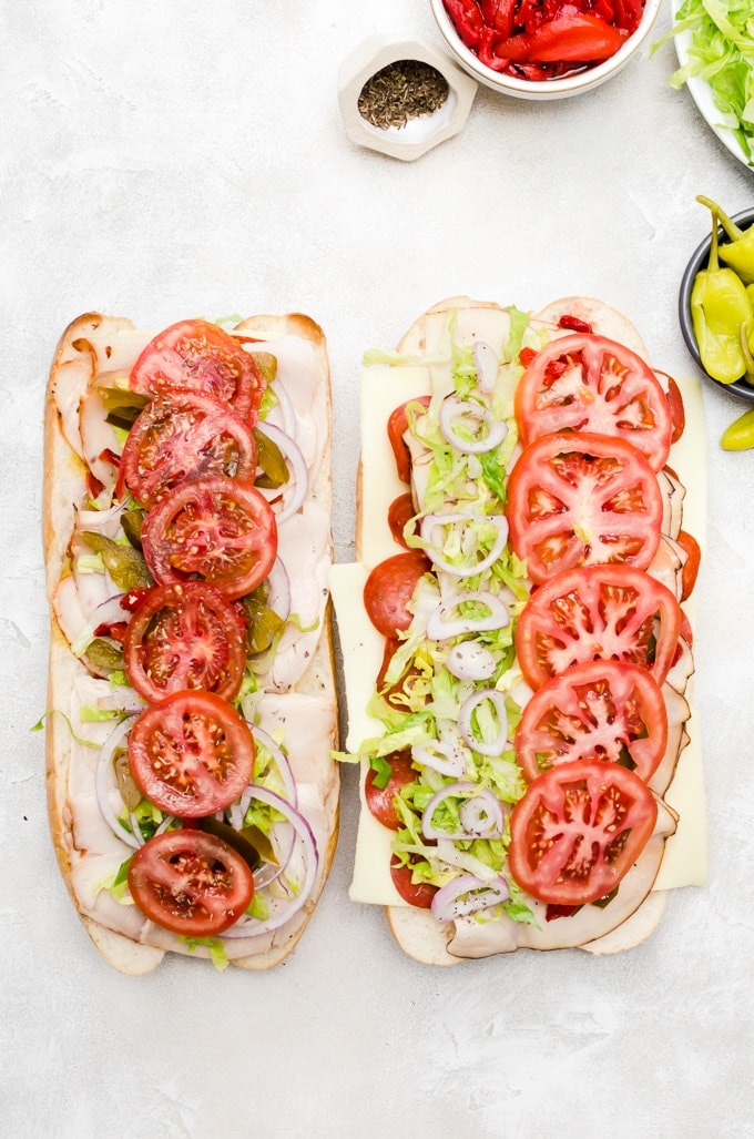 building the perfect hoagie