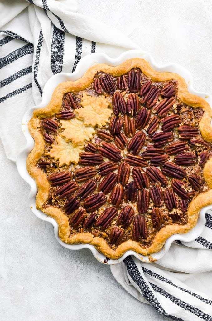 Chocolate Pumpkin Pecan Pie
