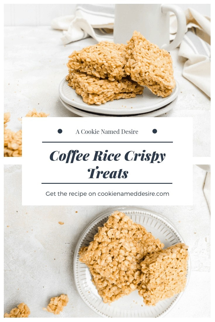 There's nothing like having a coffee rice crispy treat in the morning #coffee #ricecrispy #ricekrispie