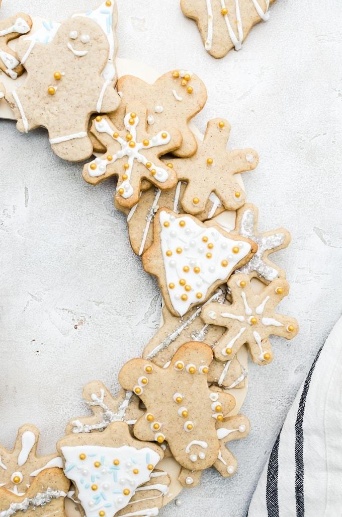 cookie wreath