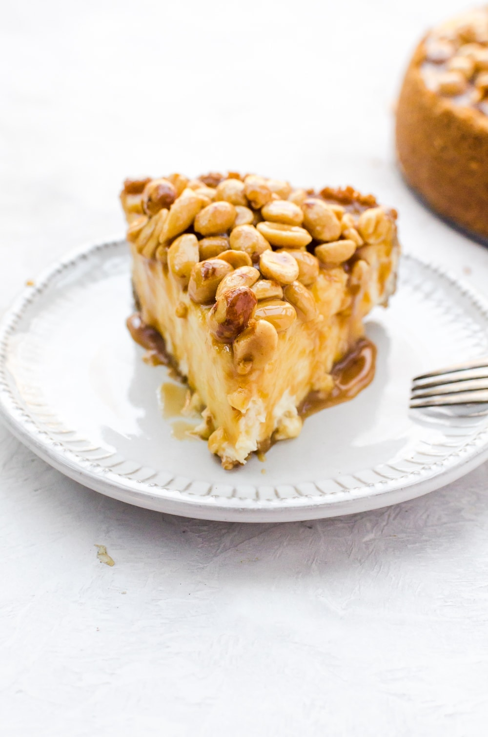 Caramel Nut Cheesecake A Cookie Named Desire