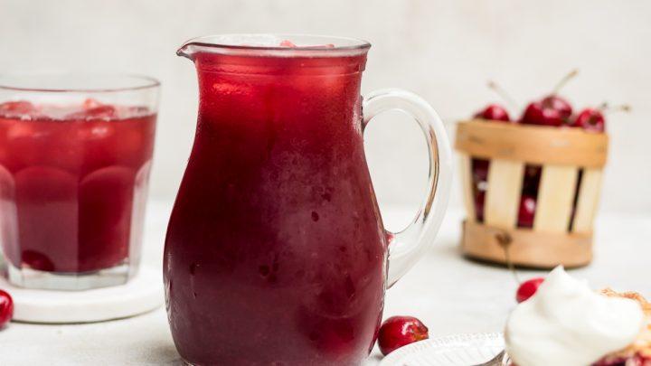 Cherry Pie Iced Tea