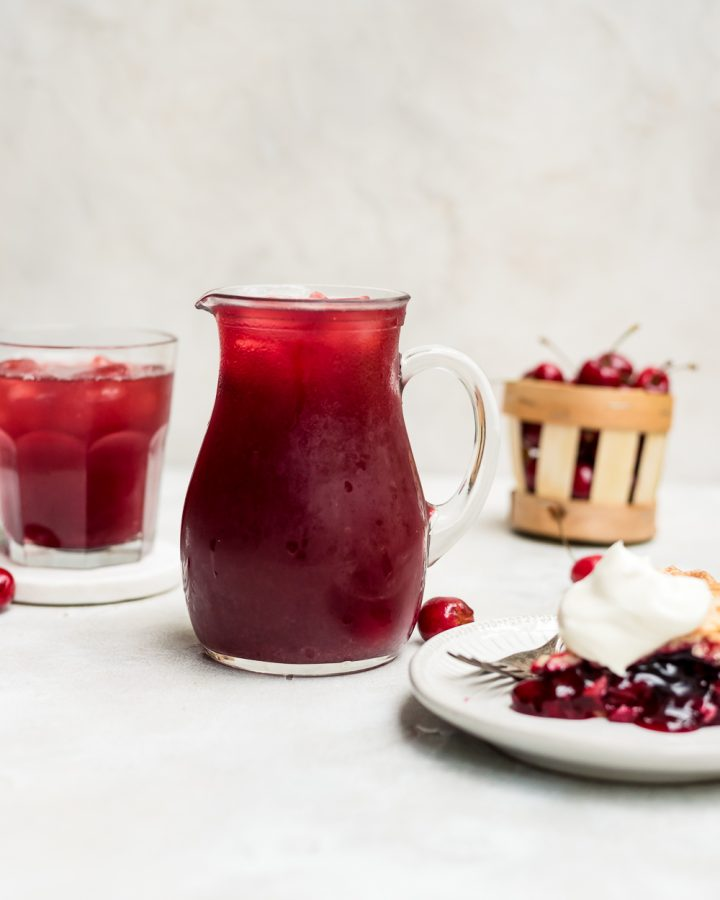 Cherry Pie Iced Tea