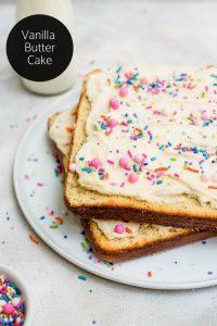 vanilla butter cake logo