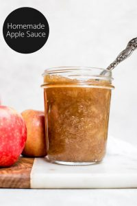 homemade apple sauce logo