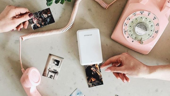 Portable Wireless Photo Printer
