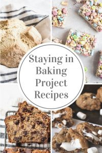 collage of baking recipes