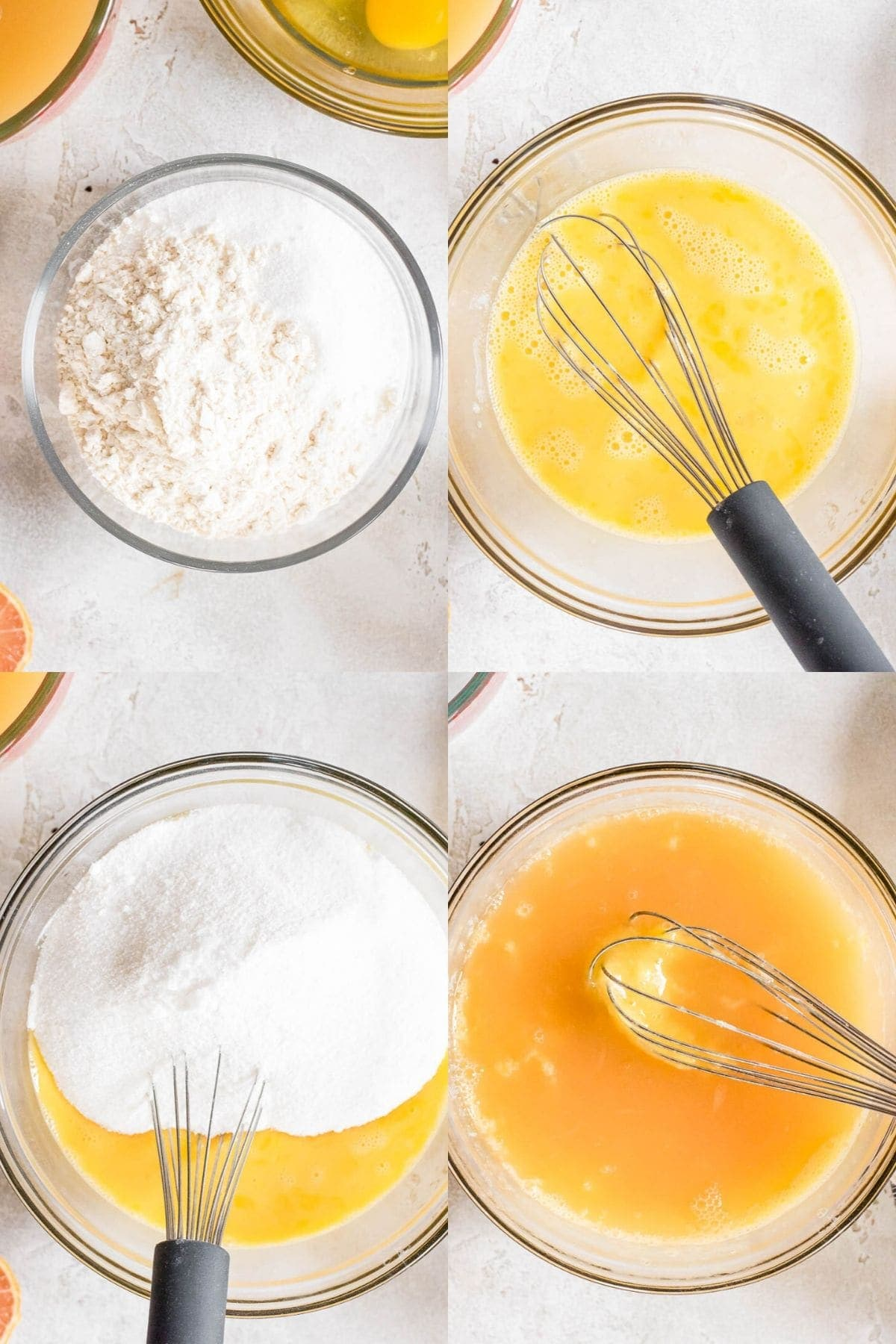 steps to make lemon bar filling