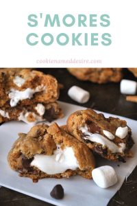 smores cookie pinterest pin