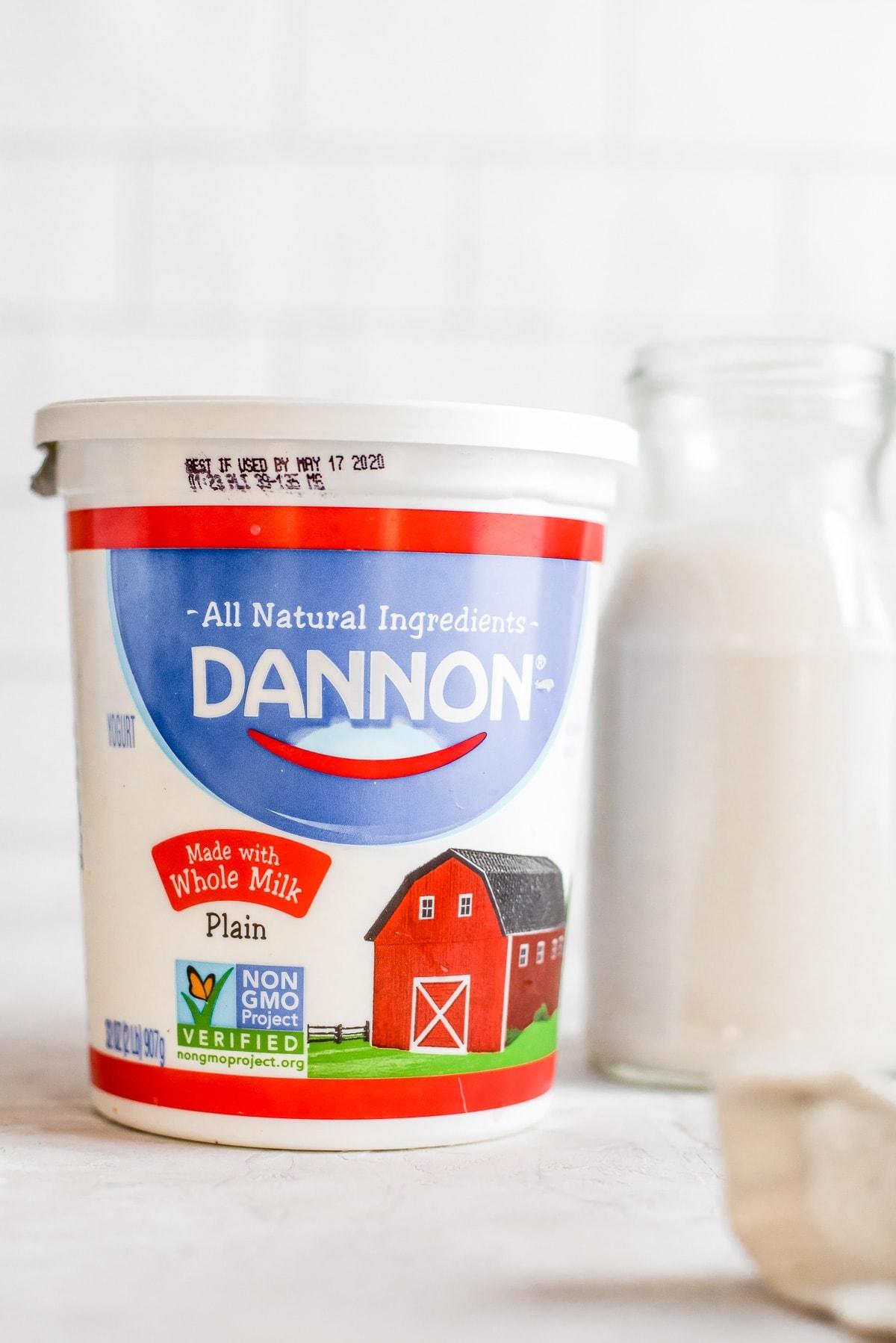 milk next to milk