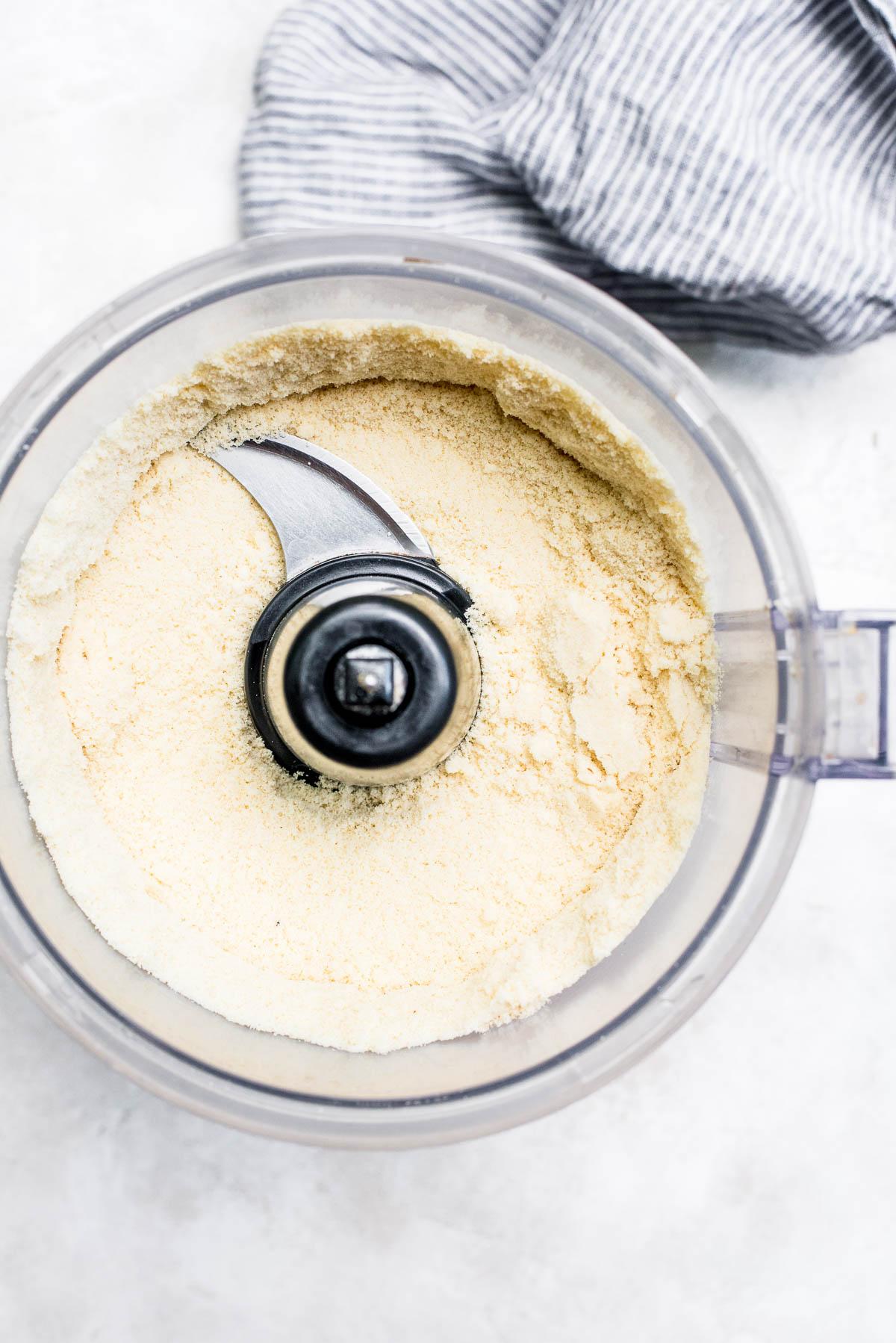 almond flour in food processor