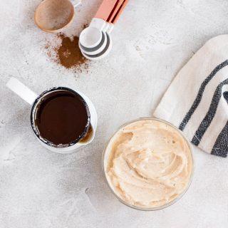 cinnamon honey butter next to ingredients