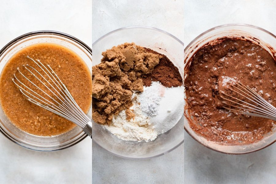 steps on how to make chocolate sheet cake batter