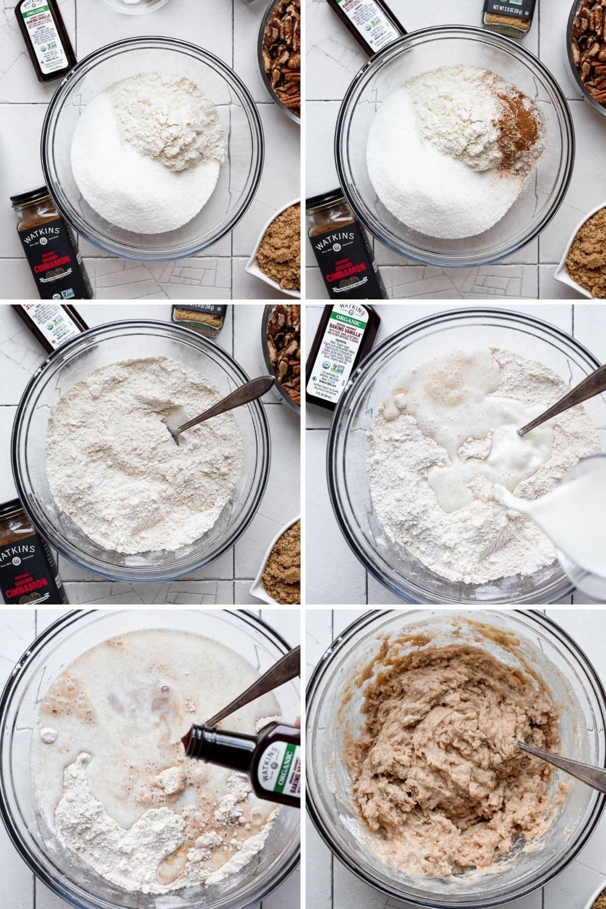 steps to make batter for cobbler